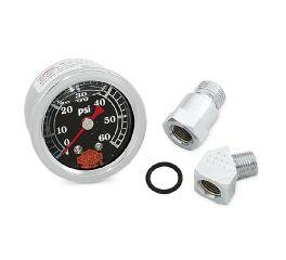 Harley-Davidson® Liquid-Filled Oil Pressure Gauge 75012-82D