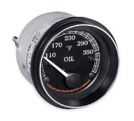 Harley-Davidson® Fairing Mount Oil Temperature Gauge - Fahrenheit 70900283