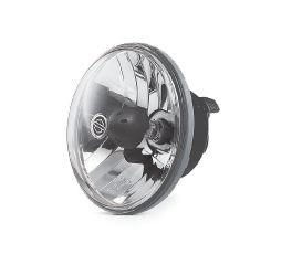 Harley-Davidson® Halogen Headlamp- Clear Smooth Lens with Reflector Optics 68297-05A
