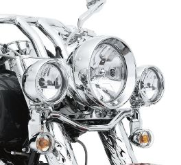 Harley-Davidson® Halogen Headlamp- Clear Smooth Lens with Reflector Optics 68344-05A