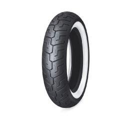 Harley-Davidson® Dunlop Tire Series- D401 150/80B16 Wide Whitewall- 16 in. Rear, Dunlop 55192-10