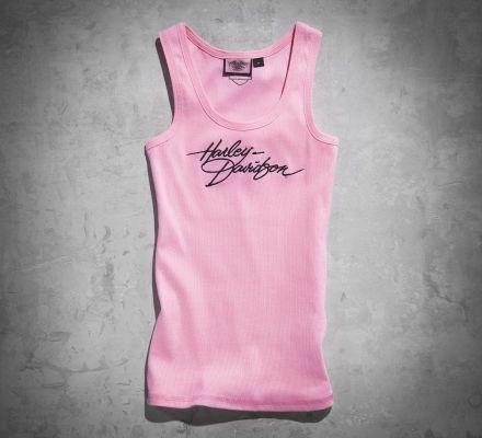 Women's Pink Label Layering Tank, Harley-Davidson® 99174-10VW