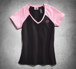 Women's Pink Label V-Neck Tee