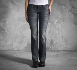 Women's Embellished Wing Bootcut Jeans