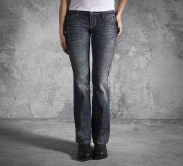 Harley-Davidson® Women's Embellished Wing Bootcut Jeans 99186-12VW