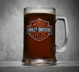 Bar & Shield Logo Mug