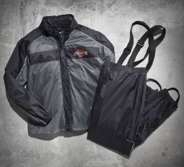 Harley-Davidson® Men's Roadway Rain Suit 98239-13VM