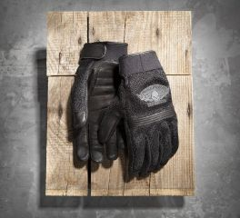 Harley-Davidson® Men's Winged Skull Gloves 98278-14VM