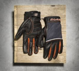 Harley-Davidson® Women's Cora Leather & Mesh Full-Finger Gloves 98295-14VW