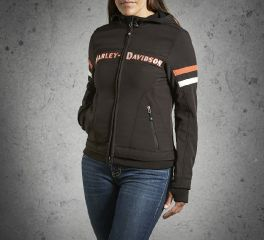 Harley-Davidson® Women's Miss Enthusiast Soft Shell Jacket 98547-14VW