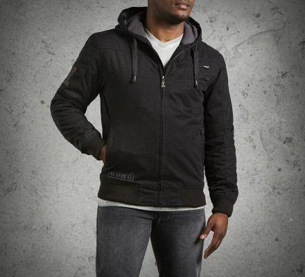 Harley-Davidson® Men's Machine Bolt Hooded Jacket 98551-14VM