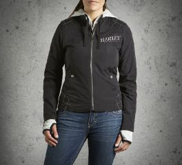 Harley-Davidson® Women's Skull 3-in-1 Outerwear Jacket 98552-14VW