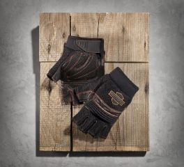 Harley-Davidson® Men's Interface Fingerless Gloves 98322-15VM