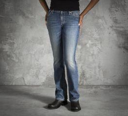 Harley-Davidson® Women's Embellished Pocket Contour Bootcut Jeans 99116-15VW