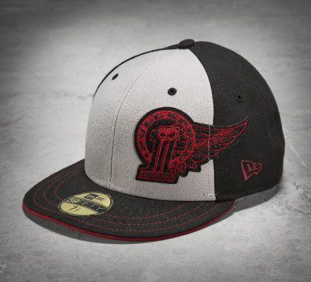 Harley-Davidson® Men's No1 Winged 59FIFTY Baseball Cap 99406-15VM