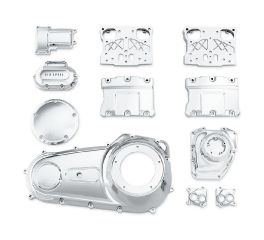 Chrome Engine Kit for Twin Cam-Equipped Dyna Models