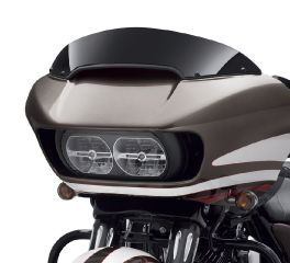Harley-Davidson® Road Glide 6 in. Contoured Wind Deflector - Black 57400280