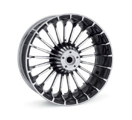 Harley-Davidson® Turbine 18 in. Rear Wheel - Contrast Chrome 40900324
