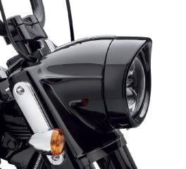 Harley-Davidson® 7 in. Visor Style Headlamp Trim Ring 61400293