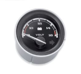 Harley-Davidson® Custom Face Gauges - Voltmeter 70900297