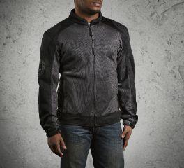 Harley-Davidson® Men's Skull Mesh Riding Jacket 98092-15VM