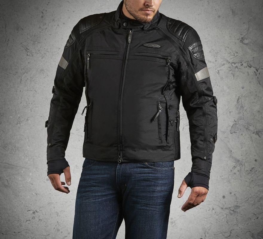 harley davidson men 39 s fxrg switchback riding jacket 98094. Black Bedroom Furniture Sets. Home Design Ideas