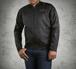 Harley-Davidson® Men's Skull & Flames Bomber Jacket 98562-15VM