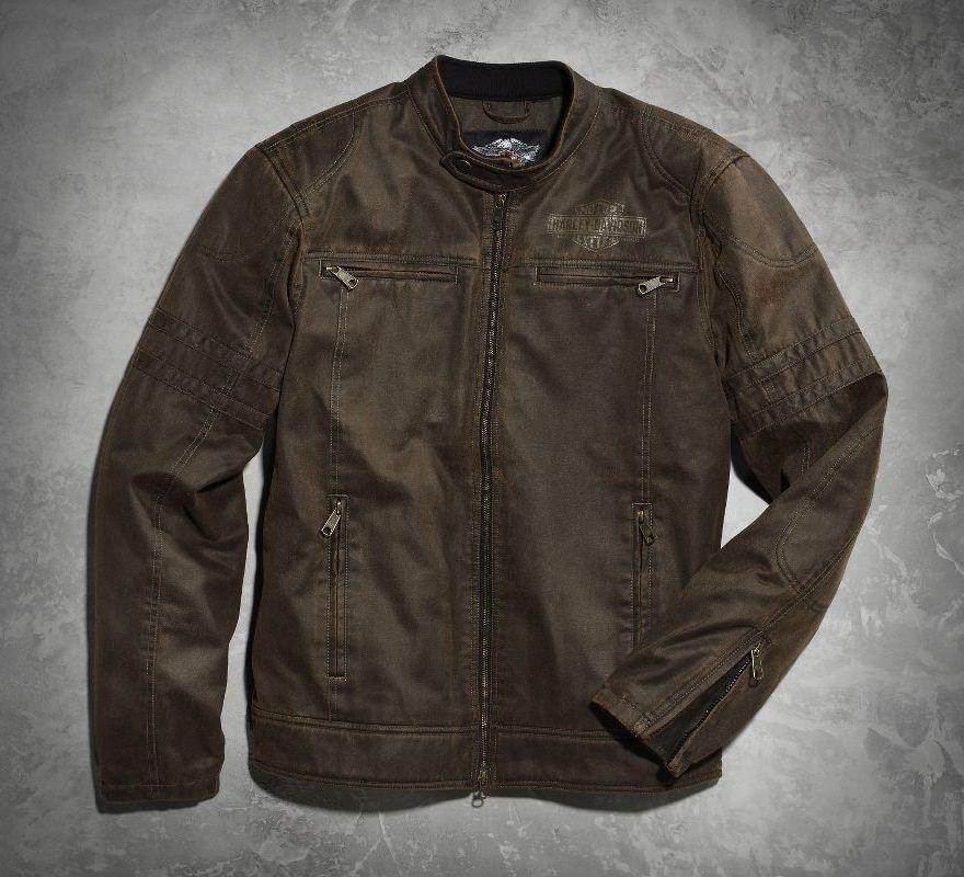 Harley Davidson 174 Men S Hornback Moto Jacket 98564 15vm