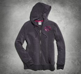Harley-Davidson® Women's Pink Label Hoodie 99106-15VW
