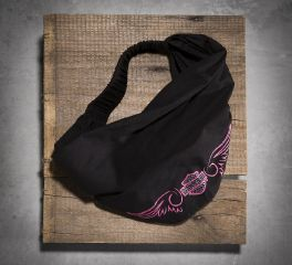Harley-Davidson® Women's Pink Label Embellished Headwrap 99521-15VW