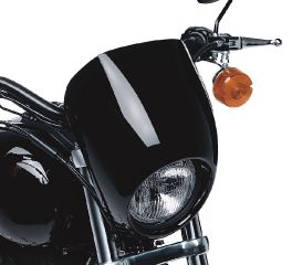 Harley-Davidson® Color-Matched Headlamp Visor 68129-98DH