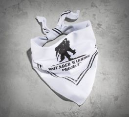 Harley-Davidson® White Wounded Warrior Project Bandana 97750-15VM