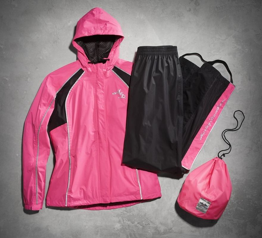 Harley-Davidson® Women s Hi-Vis Reflective Rain Suit 98362-15VW ... 51cc3b1092