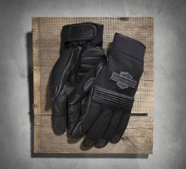 Harley-Davidson® Men's Stark Mesh & Leather Gloves 98387-16VM