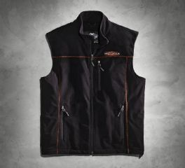 Harley-Davidson® Men's Fleece Mid-Layer Vest 98567-16VM
