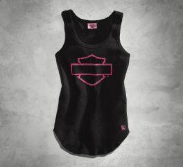 Harley-Davidson® Women's Pink Label Logo Tank 99124-16VW