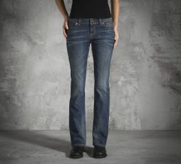 Harley-Davidson® Women's Boot Cut Low-Rise Jeans 99155-15VW