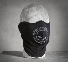 Harley-Davidson® Men's Skull Fleece/Neoprene Face Mask 99406-16VM