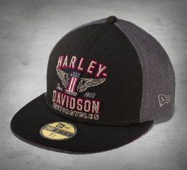 Harley-Davidson® Men's No1 Wing 59FIFTY Cap 99426-16VM