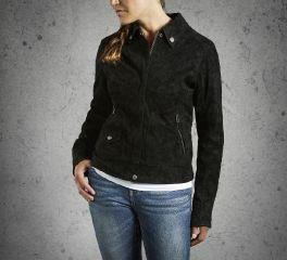 Harley-Davidson® Women's Soar Sueded Jacket 98566-16VW