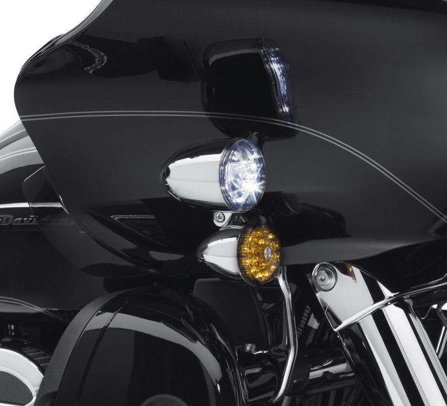68000183 Harley Davidson 174 Road Glide Led Fog Lamp Mount