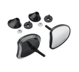 Harley-Davidson® Edge Cut Tapered Fairing Mount Mirrors 56000099A