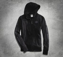 Harley-Davidson® Women's Harley-Davidson Black Wounded Warrior Project Hoodie 99183-16VW