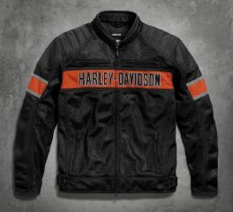 Harley-Davidson® Men's Trenton Mesh Riding Jacket 98111-16VM