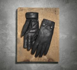 Harley-Davidson® Women's Skull Rivet Leather Gloves 98222-16VW