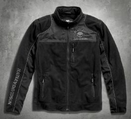 Harley-Davidson® Men's Skull Windproof Fleece Jacket 98576-16VM