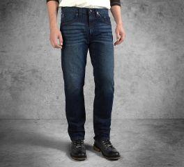 Harley-Davidson® Men's Indigo Slim Fit Black Label Jeans 99031-16VM