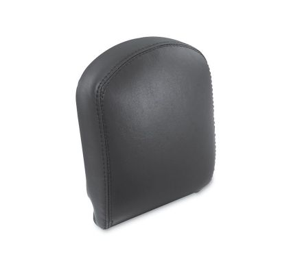Harley-Davidson® Medium Low Custom Upright Smooth French Seam Backrest Pad 51642-06