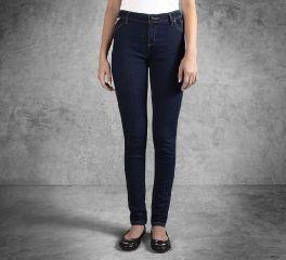 Harley-Davidson® Women's Skinny Mid-Rise Jeans 99177-16VW