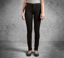 Harley-Davidson® Women's Skinny Zipper Mid-Rise Jeans 99178-16VW